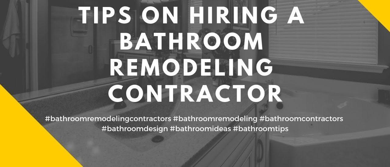bathroom contractor in Toronto